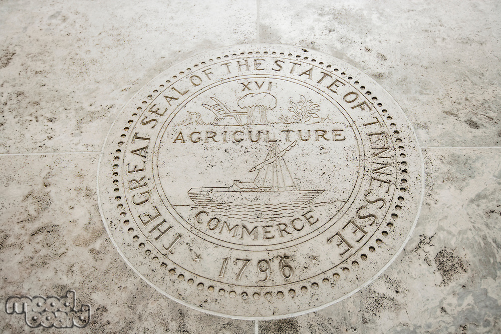 Great Seal of the State of Tennessee in Fort Bonifacio; Manila; Philippines