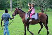 Horse ride for Children in Jamaica