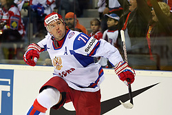 15.04.2011, Orange Arena, Bratislava, SVK, IIHF 2011 World Championship, Russia vs Czech Republic, im Bild .KOVALCHUK CELEBRATES 2ND GOAL. EXPA Pictures © 2011, PhotoCredit: EXPA/ EXPA/ Newspix/ .Tadeusz Bacal +++++ ATTENTION - FOR AUSTRIA/(AUT), SLOVENIA/(SLO), SERBIA/(SRB), CROATIA/(CRO), SWISS/(SUI) and SWEDEN/(SWE) CLIENT ONLY +++++
