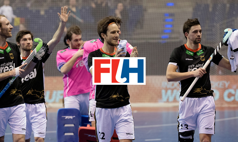 BERLIN - Indoor Hockey World Cup<br /> Men: Poland - Germany<br /> foto: Maco Miltkau.<br /> WORLDSPORTPICS COPYRIGHT FRANK UIJLENBROEK