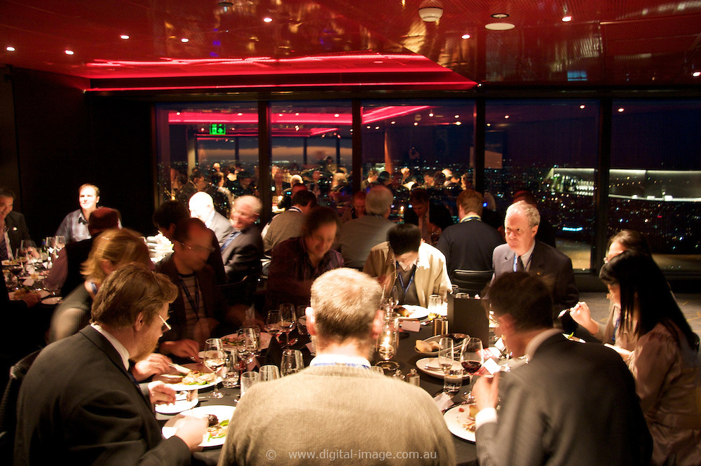 AO Week Dinner.Eureka 89 Restaurant.Eureka Tower.Southbank.Melbourne.Australia