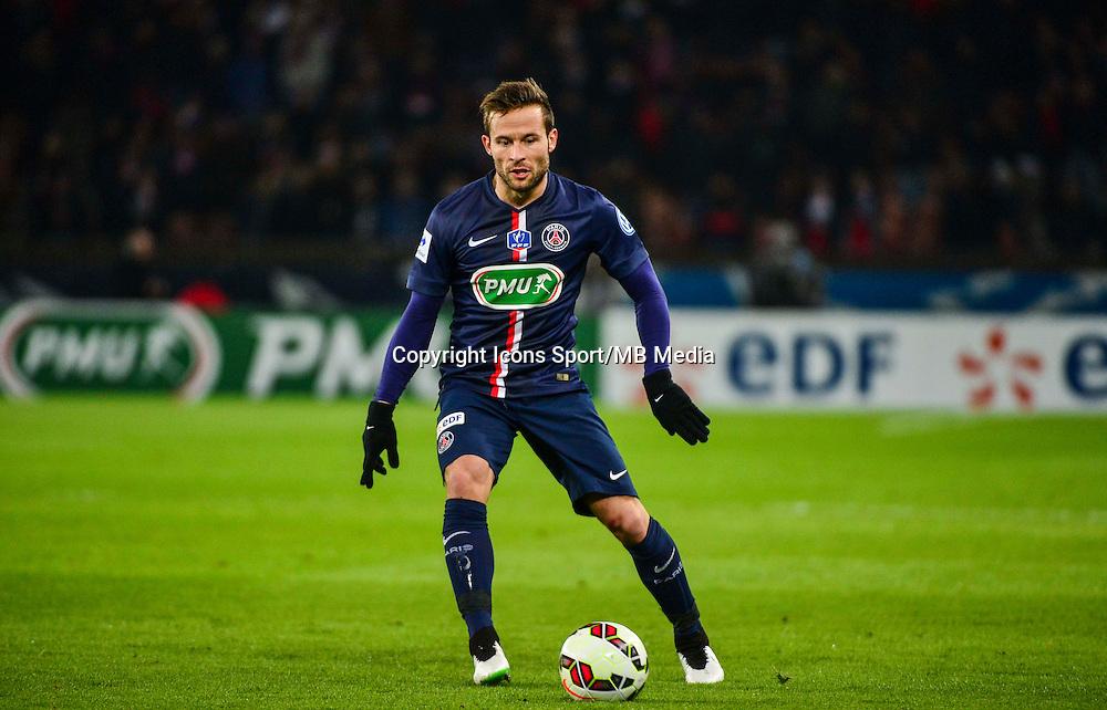 Yohan CABAYE - 21.01.2015 - Paris Saint Germain / Bordeaux - Coupe de France<br /> Photo : Dave Winter / Icon Sport