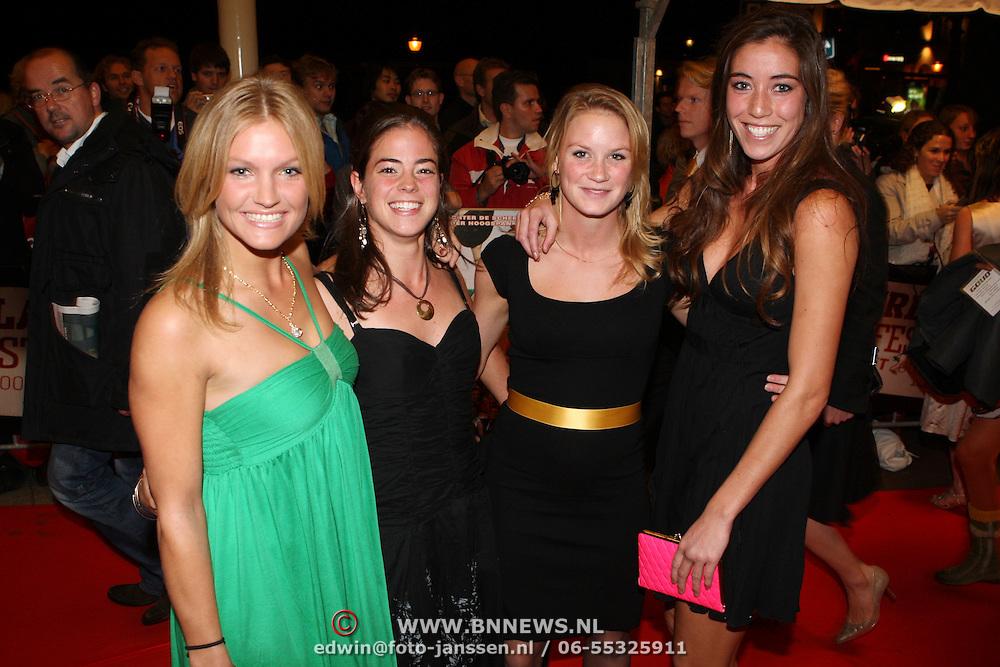 NLD/Utrecht/20070928 - Premiere film Goud over Nederlands dames hockeyelftal, vlnr, ...., ...., ...., ....