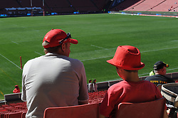 28-07-18 Emirates Airline Park, Johannesburg. Super Rugby semi-final Emirates Lions vs NSW Waratahs. Lions fans in the stadium before the start of the semi-final. Picture: Karen Sandison/African News Agency (ANA)