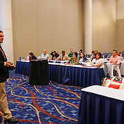 Continuing Education - APhA Delivering Medication Therapy Management Services with Dr. Michael Rush (PharmD). Cardinal Health RBC 2016, Chicago. Photo by Alabastro Photography.
