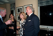 ANNA CARTER; GRAYDON CARTER, Graydon Carter hosts a dinner to celebrate the reopening og the American Bar at the Savoy.  Savoy Hotel, Strand. London. 28 October 2010. -DO NOT ARCHIVE-© Copyright Photograph by Dafydd Jones. 248 Clapham Rd. London SW9 0PZ. Tel 0207 820 0771. www.dafjones.com.