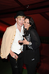Henry Conway and Martine McCutcheon at the MontBlanc John Lennon Launch, The Serpentine Gallery, Kensington Gardens, London on 14th September 2010.
