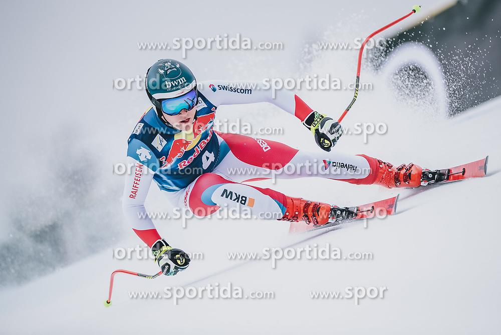 25.01.2020, Streif, Kitzbühel, AUT, FIS Weltcup Ski Alpin, Abfahrt, Herren, im Bild Niels Hintermann (SUI) // Niels Hintermann of Switzerland in action during his run in the men's downhill of FIS Ski Alpine World Cup at the Streif in Kitzbühel, Austria on 2020/01/25. EXPA Pictures © 2020, PhotoCredit: EXPA/ JFK