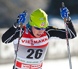 05.01.2011, Nordic Arena, Toblach, ITA, FIS Cross Country, Tour de Ski, Qualifikation Sprint Women and Men, im Bild Kikkan Randall (USA, #26). EXPA Pictures © 2011, PhotoCredit: EXPA/ J. Groder