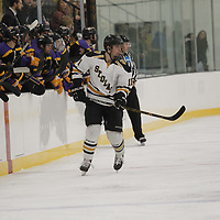 Men's Ice Hockey: St. Olaf College Oles vs. University of Wisconsin-Stevens Point Pointers