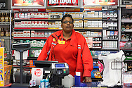 Shamika, a cashier at the Shell Station less then a 1/2 from the sinkhole worries about the sinkhole daily.  When the Bayou Corne sinkhole opened up on August 3, 2012 a mandatory evacuation was called and many of the towns residents left. Texas Brine drilled too close to the edge of a salt mine causing it to collapse and cause an industrial disaster.