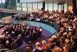 City Hall, London, November 27 2015. Four hundred school and college leaders together with international experts and leaders in education join forces at City Hall for the third annual education conference organised by the Mayor of London.
