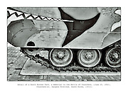 """Details of a South Korean Tank, a memorial to the Battle of Chuncheon, fought at the start of the Korean War on June 25, 1950, Chuncheon-si, in the Gangwon Province, from the series """"Tank, 2012."""