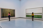 Kamiokande and Rhine III - Andreas Gursky a new exhibiition. The Hayward Gallery reopens on the Southbank after a major refurbishment.