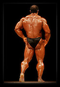 Various professional Body Builders at UK Shows..Daz Ball.