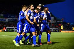 Abu Ogogo of Bristol Rovers celebrates scoring a goal - Mandatory by-line: Dougie Allward/JMP - 07/12/2019 - FOOTBALL - Memorial Stadium - Bristol, England - Bristol Rovers v Southend United - Sky Bet League One