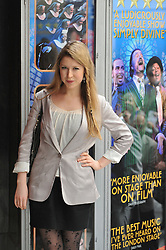 © Copyright licensed to London News Pictures. 12/10/2010. Hayley Westenra arrives at the 100th birthday celebration for the London Palladium. Andrew Lloyd-Webber hosts a celebration to mark the centenary of the London Palladium.
