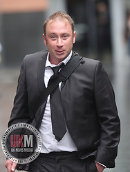 Manchester UK 28.07.2017 Danel Jones leaves Manchester Magistrates court after being convicted of being 5  times over the drink drive limit.<br /> <br /> Copy available