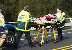Taradale-Car crash on SH50a