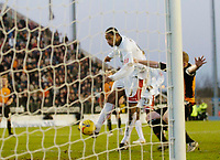 Photo: Leigh Quinnell.<br /> Milton Keynes Dons v Barnet. Coca Cola League 2. 20/01/2007. MK Dons Clive Platt scores his third goal after his penalty was saved.