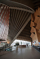 Interior shot of the main entrance to the Sydney Opera House.
