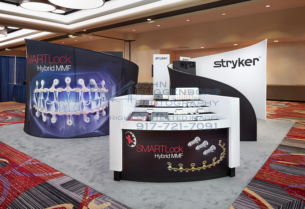 The Stryker booth by Czarnowski at the 2014 IFHNOS Conference in New York City. Photograph by John Muggenborg.