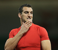Sam Warburton of Wales betore the International Test Match match at the Millennium Stadium, Cardiff<br /> Picture by Michael Whitefoot/Focus Images Ltd 07969 898192<br /> 08/11/2014