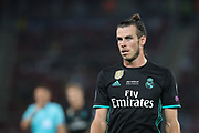 A portrait of Gareth Bale of Real Madrid during the UEFA Super Cup Final match between Real Madrid and Manchester United at the Philip II Arena, Skopje, Macedonia on 8 August 2017. Photo by Ahmad Morra.