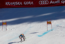 Ted Ligety of USA during 2nd Rund of Men's Giant Slalom of FIS Ski World Cup Alpine Kranjska Gora, on March 5, 2011 in Vitranc/Podkoren, Kranjska Gora, Slovenia.  (Photo By Vid Ponikvar / Sportida.com)