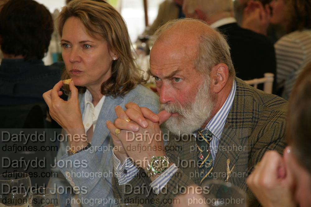 PRINCE MICHAEL OF KENT, Cartier Style et Luxe lunch. Goodwood.  24 June 2007.  -DO NOT ARCHIVE-© Copyright Photograph by Dafydd Jones. 248 Clapham Rd. London SW9 0PZ. Tel 0207 820 0771. www.dafjones.com.