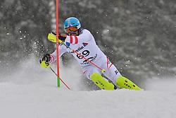 ERNST Julian LW4 AUT at 2018 World Para Alpine Skiing World Cup slalom, Veysonnaz, Switzerland