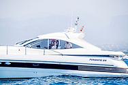 30-7-2018 PALMA DE MALLORCA - 37th Copa del Rey Mapfre Sailing Cup, Day 1, Palma, Spain Princess Elena and Victoria Federica de Marichalar ROBIN UTRECHT
