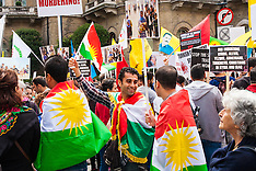 2014-08-16 Protest march in London against Islamic State massacres of Kurds and Yazidis
