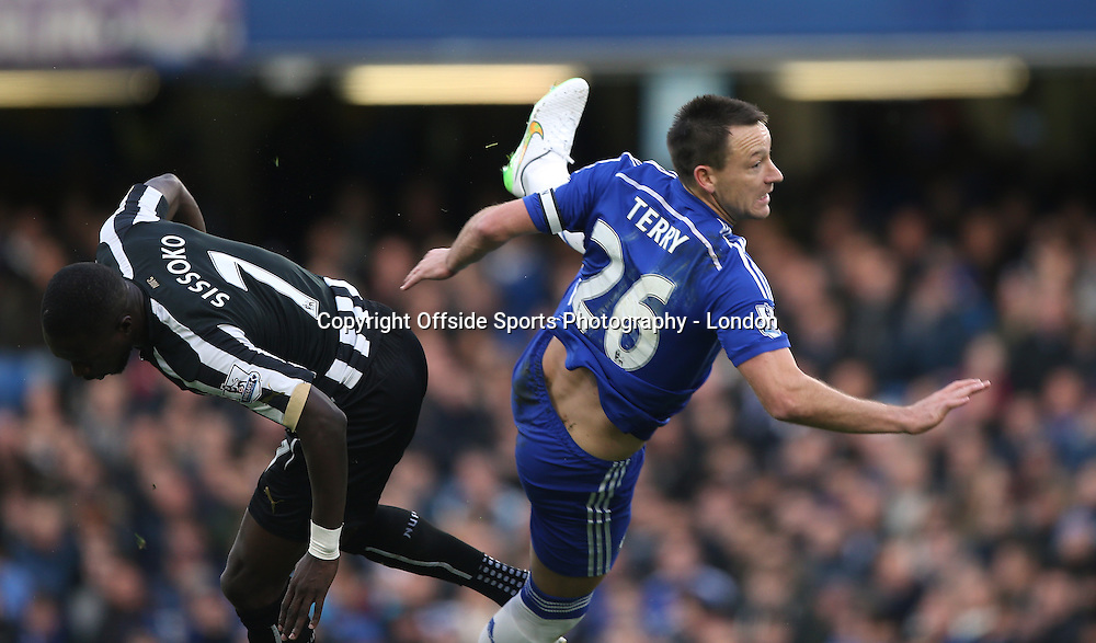 10 January 2015 Premier League Football - Chelsea v Nerwcastle United ; Chelsea captain John Terry.<br />  Photo: Mark Leech