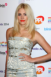 PIXIE LOTT arrives for the Radio Academy Awards, London, United Kingdom. Monday, 12th May 2014. Picture by i-Images