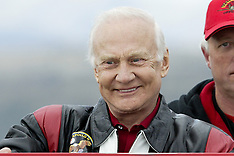 Christchurch-File Photo, Astronaut Buzz Aldrin, presently recovering in Chch Hospital