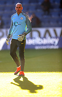 Football - 2016/2017 Premier League - Burnley vs Manchester City <br /> <br /> Willy Caballero of Manchester City warms up before the match at Turf Moor <br /> <br /> COLORSPORT/LYNNE CAMERON