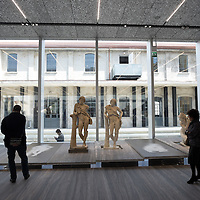 Foto Piero Cruciatti / LaPresse<br /> 02-05-2015 Milano, Italia<br /> Cronaca<br /> Fondazione Prada - Anteprima stampa <br /> Nella Foto: Vista generale dei nuovi spazi della Fondazione Prada<br /> <br /> <br /> Photo Piero Cruciatti / LaPresse<br /> 02-05-2015 Milano, Italy<br /> News<br /> Fondazione Prada - Press preview <br /> In the Photo: Fondazione Prada - Press preview