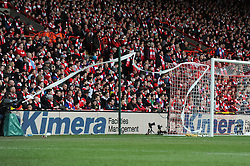 Bristol City fans - Photo mandatory by-line: Dougie Allward/JMP - Mobile: 07966 386802 - 25/01/2015 - SPORT - Football - Bristol - Ashton Gate - Bristol City v West Ham United - FA Cup Fourth Round