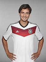 FUSSBALL   PORTRAIT TERMIN DEUTSCHE NATIONALMANNSCHAFT 24.05.2014 Mats Hummels (Deutschland)
