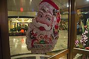 Christmas decoration (Santa Claus) at the Jiao Tong Da Sha Business Hotel, Taiyuan, Shanxi Province, China