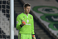 David Martin of Milton Keynes Dons during the Sky Bet Championship match at stadium:mk, Milton Keynes<br /> Picture by David Horn/Focus Images Ltd +44 7545 970036<br /> 15/12/2015