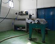 Israel, Galilee, Modern olive oil press