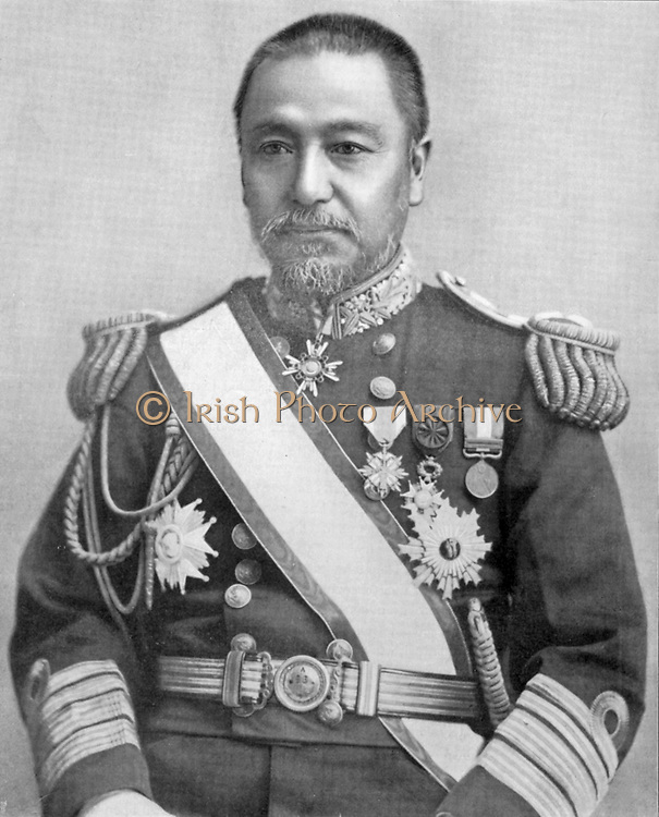 Heihachiro Togo (1847-1934) Japanese naval commander. Commander-in-Chief of Japanese Navy during Russo-Japanese War 1904-1905.