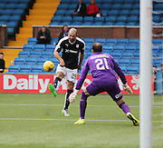 Gary Harkins outrageous chip to set up Rory Loy for Dundee's fourth goal  - Kilmarnock v Dundee - Ladbrokes Scottish Premiership at Rugby Park<br /> <br />  - &copy; David Young - www.davidyoungphoto.co.uk - email: davidyoungphoto@gmail.com