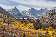 Lake Sabrina Basin and Fall Colors