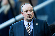 Newcastle United manager Rafa Benitez before the EFL Sky Bet Championship match between Newcastle United and Derby County at St. James's Park, Newcastle, England on 4 February 2017. Photo by Craig Doyle.