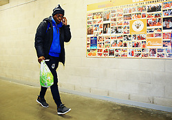 Marc Bola of Bristol Rovers arrives at Bloomfield Road - Mandatory by-line: Matt McNulty/JMP - 13/01/2018 - FOOTBALL - Bloomfield Road - Blackpool, England - Blackpool v Bristol Rovers - Sky Bet League One