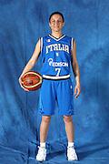 DESCRIZIONE : Alba Adriatica Raduno Collegiale Nazionale Femminile i posati delle giocatrici<br /> GIOCATORE : Mariangela Cirone<br /> SQUADRA : Nazionale Italia Donne<br /> EVENTO : Raduno Collegiale Nazionale Femminile <br /> GARA : <br /> DATA : 21/05/2009 <br /> CATEGORIA : Posato ritratto<br /> SPORT : Pallacanestro <br /> AUTORE : Agenzia Ciamillo-Castoria/C.De Massis