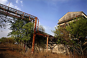 The Union Carbide (now DOW Chemical) industrial complex has been abandoned in Bhopal, Madhya Pradesh, India.